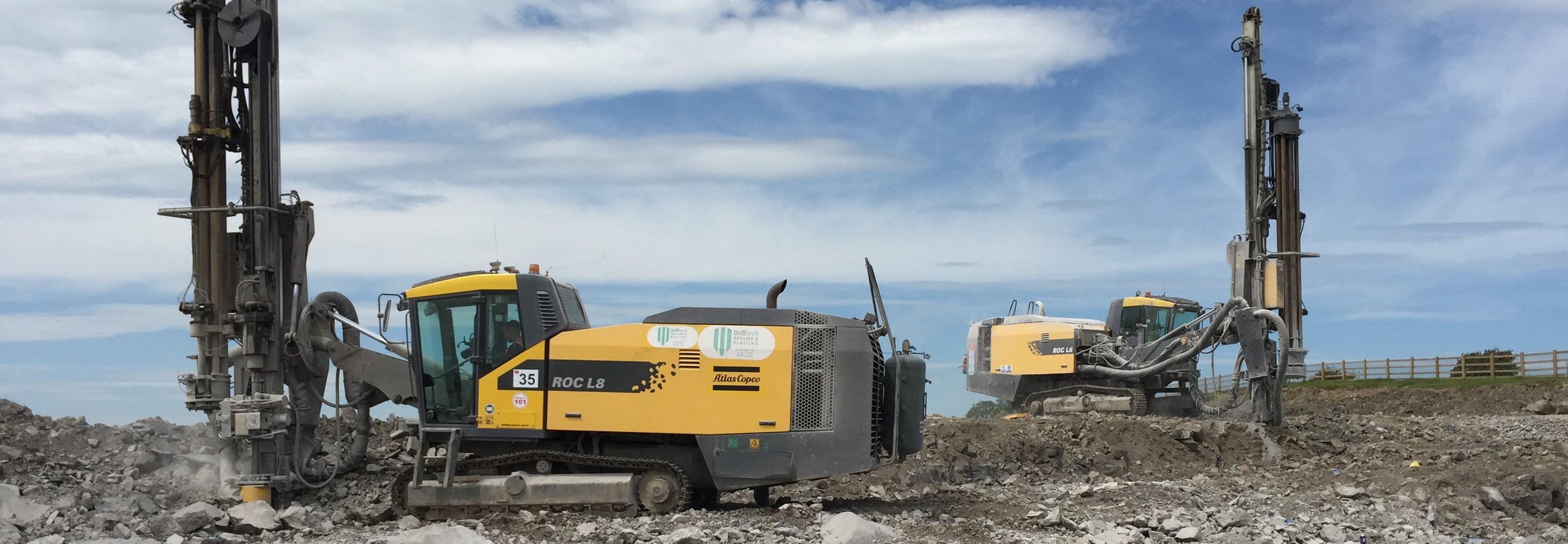 Drilling, Blasting & Crushing - Drilltech Drilling, Blasting